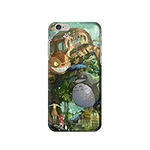 """My Neighbor Totoro Cat Bus 5.5 inches iPhone 6 Plus Case,fashion design image custom iPhone 6 Plus 5.5 inches case,durable iPhone 6 Plus hard 3D case cover for iPhone 6 Plus 5.5"""", iPhone 6 Plus Full Wrap Case BY icecream design"""