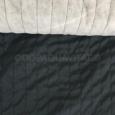 Tela forro acolchado algodón sintética tela relleno sintética Lale Petróleo: Amazon.es: Hogar