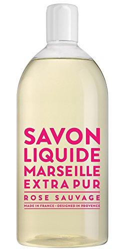 Compagnie de Provence Refill Soap Wild Rose 33.8 fl oz Plastic Bottle