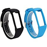 RuenTech 2Pcs Band for Polar A360 Replacement Bands, Soft Silicone Strap Sport Wristband Compatible with Polar A360 and…