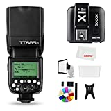 Godox TT685S 2.4G HSS 1/8000S TTL GN60 Flash Speedlite with X1T-S Trigger Transmitter
