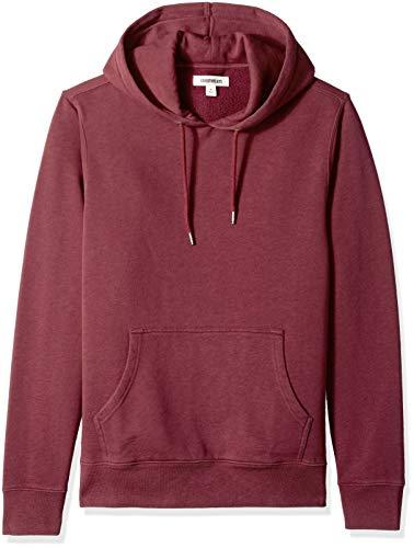 Goodthreads Men's Pullover Fleece Hoodie, Burgundy, Small
