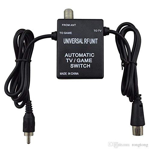 RF Switch Adapter (N64-GameCube-Dreamcast-PlayStation) Universal (Certified Refurbished)