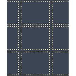 A-Street Prints 2697-22644 Gridlock Navy Geometric Wallpaper,