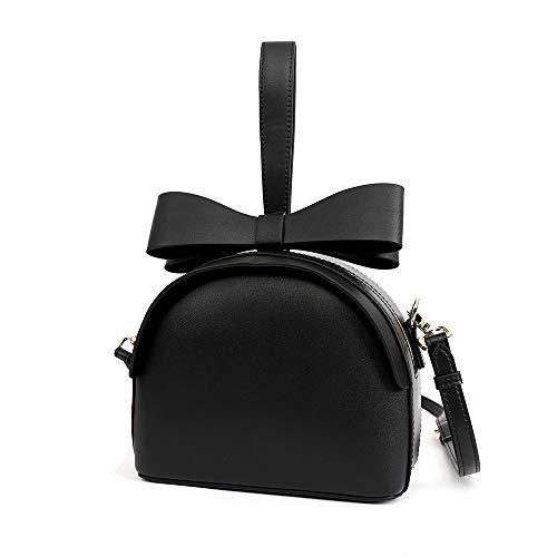 Tracolla In Satchel Viaggio Beige Jiuyizhe A Borsa Donna color Con Black Pelle Da qtEpR4wR