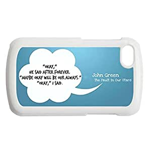 Generic Silica Cute Back Phone Case For Kids Printing With The Fault In Our Stars For Blackberry Q10 Choose Design 4