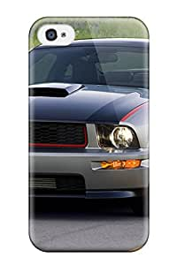 Christmas Gifts Premium Protection Ford Mustang Av8r Case Cover For Iphone 4/4s- Retail Packaging