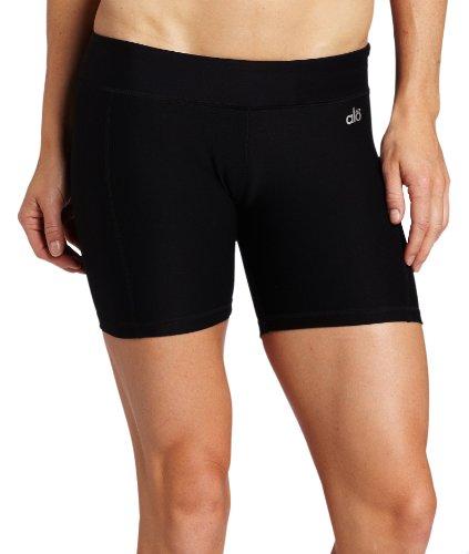 Alo Yoga Women's Workout Short, Black, X-Small