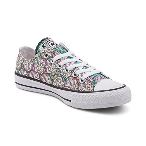 Converse Chuck Taylor All Star Lo (Mens 5/Womens 7, Sugar Skulls 9484)