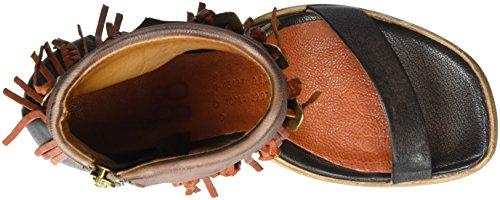 A.S.98 Calmora - Tira de tobillo Mujer Braun (choco/Grunge/Malaga/Malaga)