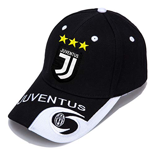 DanielFelix Juventus F.C. -Embroidered Authentic EPL Adjustable Black Baseball Cap