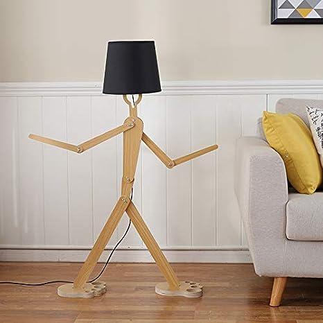 XIAPENGLas lámparas de madera nórdicas se pueden ajustar ...
