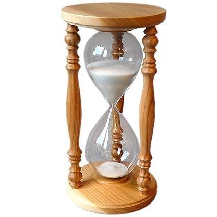 Reloj De Arena Cerezas Rústico Reloj De Arena 60 Min Amazones Hogar