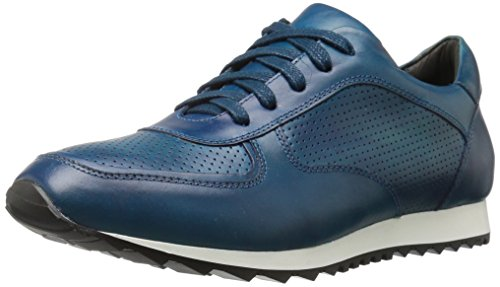 Donald J Pliner Hombres Jasten Fashion Sneaker Azul