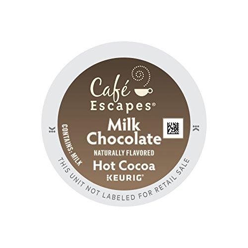 Cafe Escapes Milk Chocolate Hot Cocoa, Keurig K-Cups, 72 Count (Hot Cocoa Keurig K Cups compare prices)