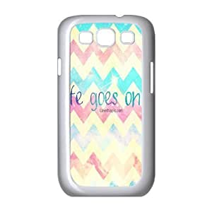 Customized Cover Case with Hard Shell Protection for Samsung Galaxy S3 I9300 case with Life Goes On lxa#276061