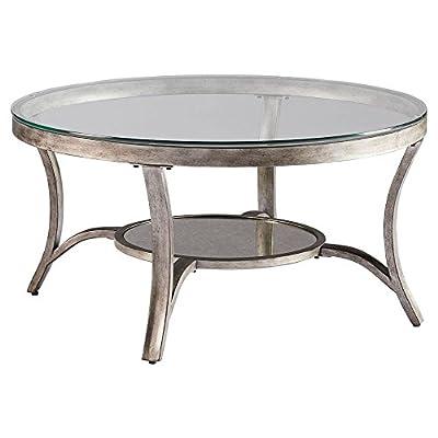 Amazon Com Standard Furniture Seville Cocktail Table Warm Burnished Bronze Base Kitchen Amp Dining
