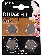 Duracell Specialty 2032 Litiummyntbatteri 3 V, (Dl2032 / Cr2032) Lämplig För Användning I Fjärrkontroller, Vågar, Bärbara Och Medicinska Enheter, 4-Pack