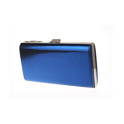 Jin Purse Glass Large luxury Clutch Ladies Cocktail diamonds Blue Ya Evening Rhinestone HxvdqHw