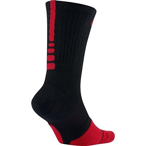 1 Calcetines Red Red university Crew Elt Nike 5 university Black Hombre U qzPt7wxX