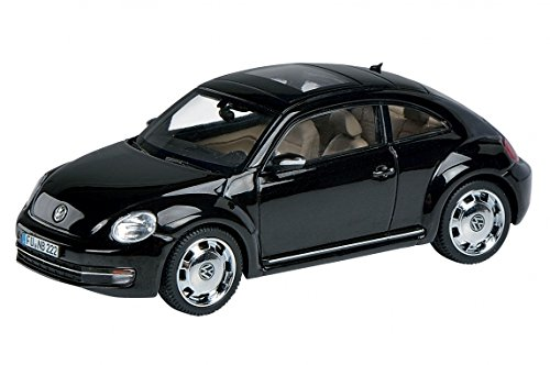 Volkswagen Beetle Coupe inブラック1 : 43 Scale by Schuco B0733L33ZF