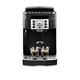 De'Longhi Magnifica S, Automatic Bean to Cup Coffee Machine, Espresso and Cappuccino Maker, ECAM22.110.B, Black