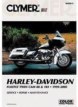 Clymer Repair Manuals for Harley-Davidson Road King FLHR//I 1999-2005