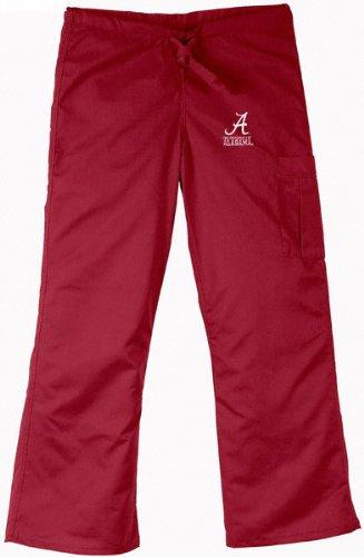 fafff836b56 Amazon.com: Alabama Crimson Tide Cargo Scrub Pant - Crimson - 3X ...