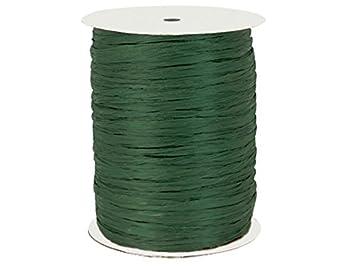 Paper Raffia Ribbon Twisted 1//4-100 Yards Roll 100/% Natural Fibers Choose Color Light Blue