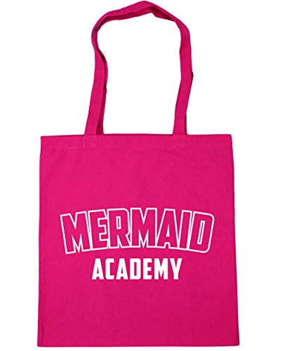 Mermaid HippoWarehouse Gym Fuchsia Tote x38cm 42cm Academy 10 Shopping litres Bag Beach gUrwgdxRq