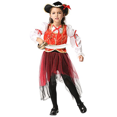 Slocyclub Baby Girl's Buccaneer Toddler Party (Deadpool Costume Ideas)