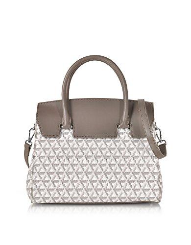 lancaster-paris-womens-51849galet-grey-canvas-handbag