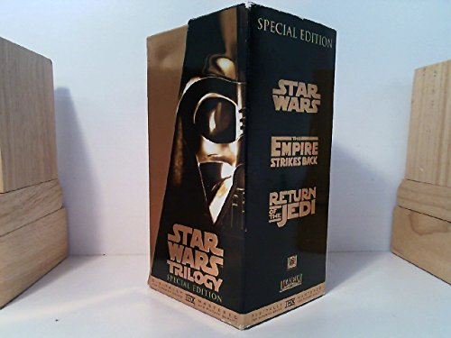 Star Wars Trilogy THX Widescreen Edition: Star Wars / The Empire Strikes Back / Return of the Jedi (Set of 3 VHS Tapes - Collector's Edition) NTSC