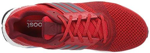 adidas Ultra Boost St M, Scarpe da Corsa Uomo Rosso (Rojray / Maruni / Buruni)