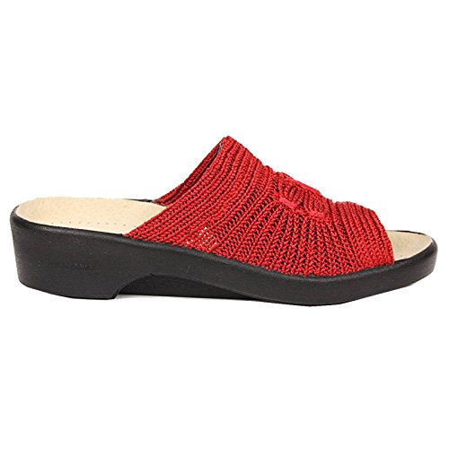 Arcopedico - Splash Open Toe Sandal in Choice of Colours & Sizes Red 7XkgDh8Z