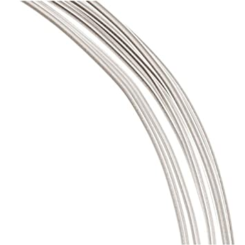 1 g (7,5° m 99,9% feiner Draht silber, 16 AWG, rund, weich: Amazon ...