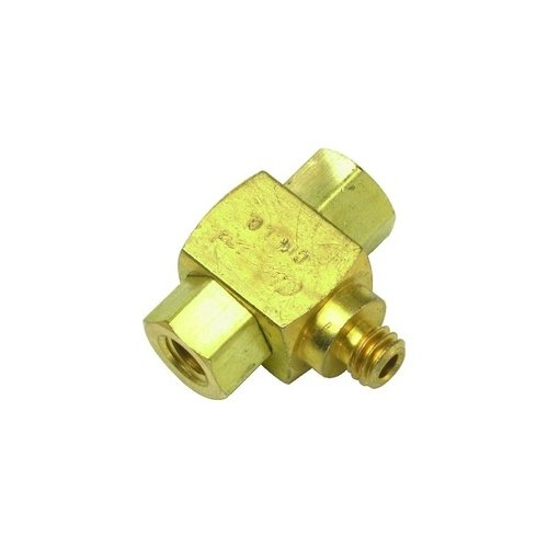 - Clippard MSV-1 Shuttle Valve, 10-32 Male Outlet, 10-32 Female Inlets