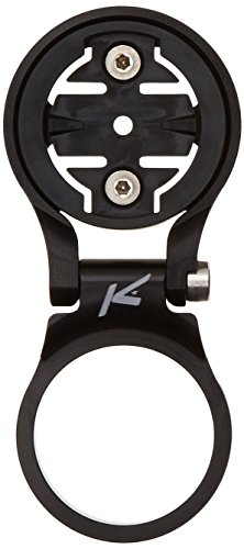 K-EDGE Stem Mount for Garmin Computers – Adjustable Black, One Size