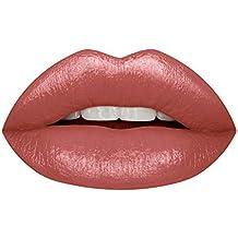 Huda Beauty Demi Matte Cream Lipstick - Feminist- an eye-catching pink nude