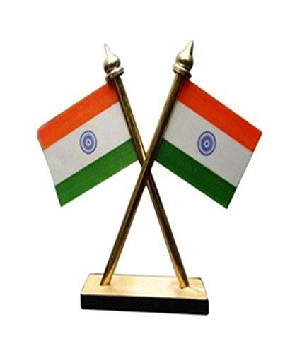 Basantcare Carsaaz Universal Car Dashboard Indian Flag