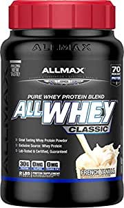 AllMax All Whey Classic Pure Whey Protein Blend - French Vanilla - 907g