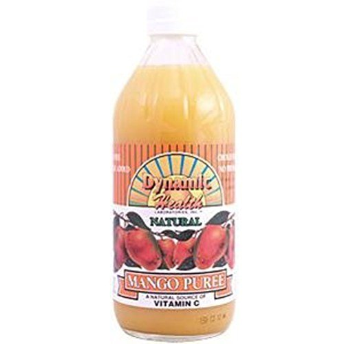 Dynamic Health Mango Puree - Dynamic Health Mango Puree, 16 Ounce
