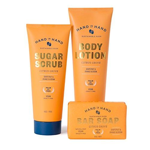 Citrus Grove Natural Vegan Palm Oil Free Classic Ultimate Skin Essentials Set