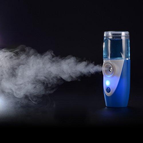 Punasi MY121 Portable Nebulizer Machine, Blue (Mini Portable Nebulizer)