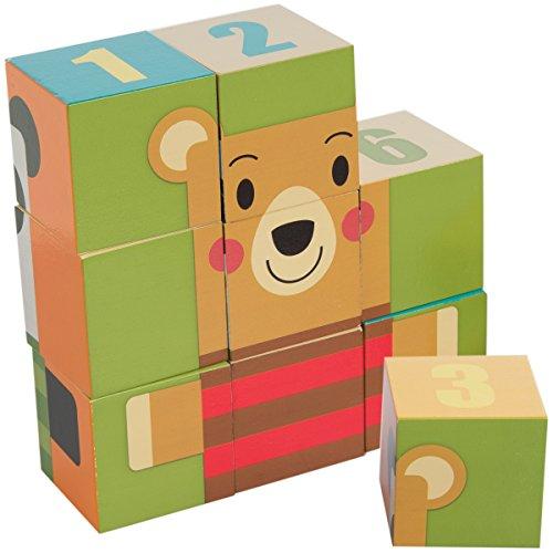 DEMDACO 9 Piece Block Puzzle