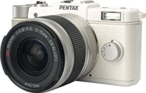 Pentax Q White kit w/02 Standard Zoom Lens