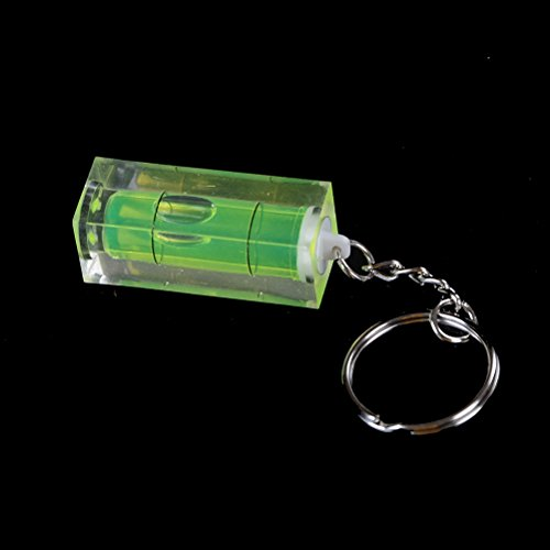 Amtech Mini Keyring Keychain Spirit Level Tool DIY Gadget Novelty Gift
