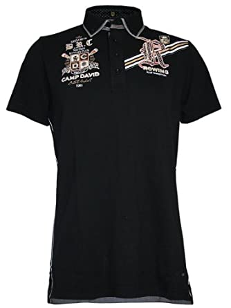 camp david men designer polo shirt rowing club xxl clothing. Black Bedroom Furniture Sets. Home Design Ideas