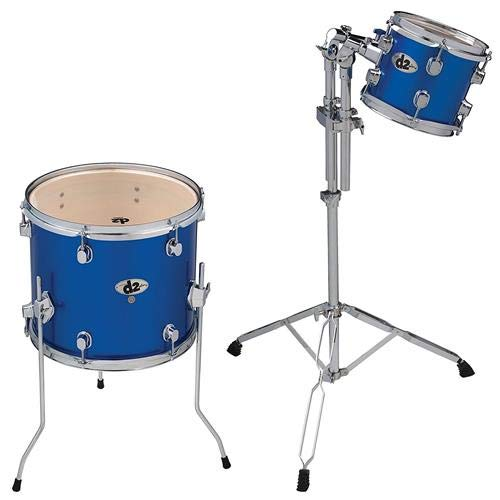 - ddrum D2 PB AD1 D2 Ad on 8 and 14 Toms, Blue