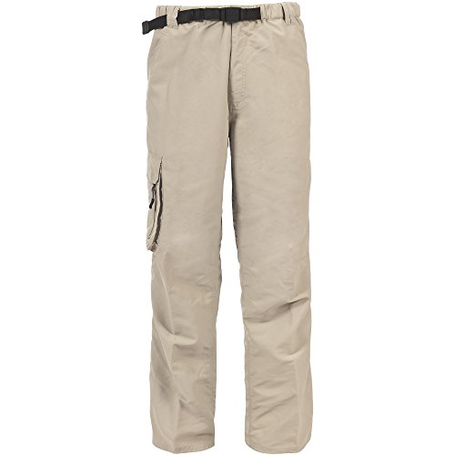 Trespass - Pantalones cargo repelentes al agua modelo Baslow hombre caballero Bambú